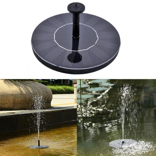 Watering Solar Power Fountain Pool Floating Water Pump Solar Panel Garden Plants Courtyard Scenery