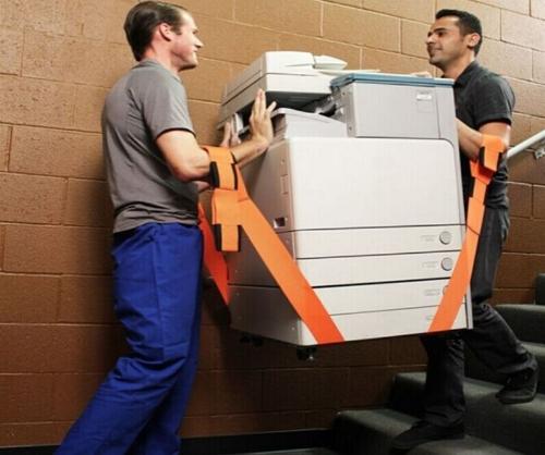 4pcs Furniture Moving Belt Team Straps Adjustable Mover Easier Lifting Conveying Belt Metal