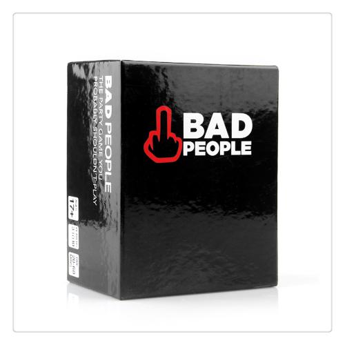 Взрослые открытки для вечеринок Смешные настольные игры Плохие люди, которых вы, вероятно, не должны играть (основные)