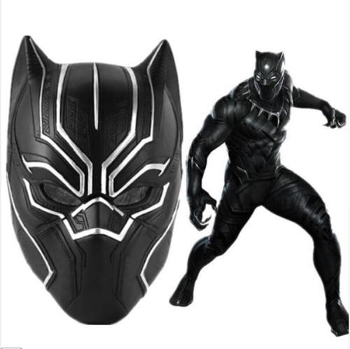 Superhero Figur Panther Maske Road Riding Maske Cosplay Maske
