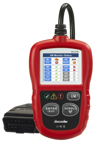 Autel AutoLink AL319 On-Board Diagnostics OBDII/CAN Code Reader Auto Fault Code Scanner