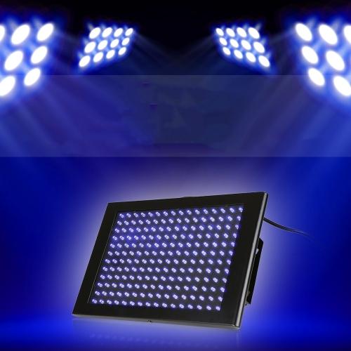 192PCS светодиодов УФ-этап плоской панели стробоскоп лампа