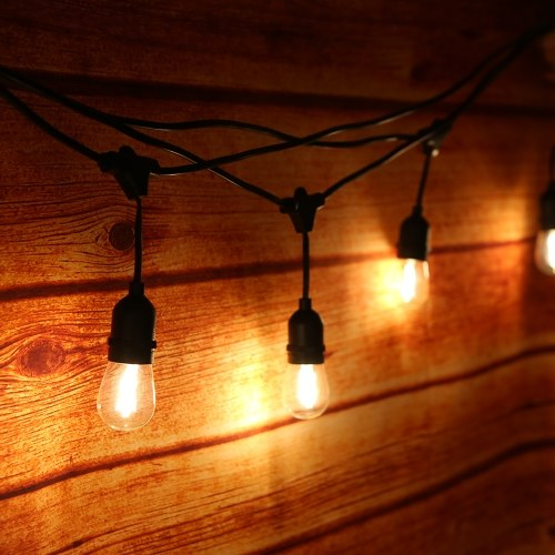 Tomshine AC220-240V 15W 33,5Ft E27 String Light Kit