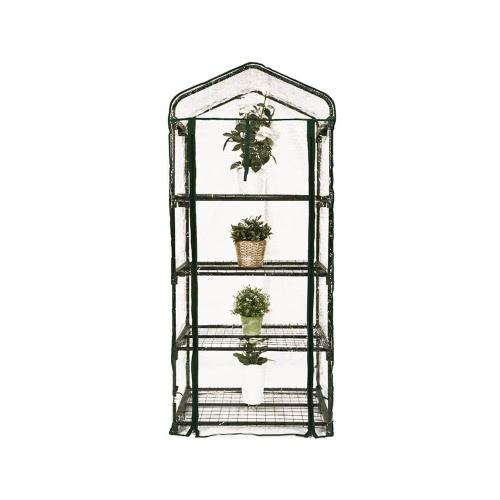 Mini Serre de Jardin Botanique 4 étagères 69x49x158cm