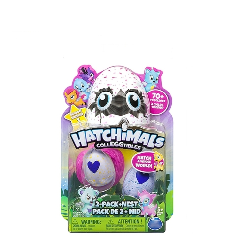 Huevo de Magic Hatch reutilizable 2 piezas Colecciona huevos flameantes exclusivos con base
