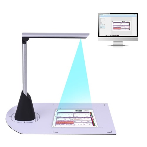 Portable High Speed USB Book Image Document Camera Scanner