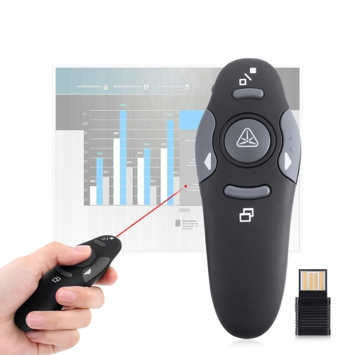 2.4GHz Wireless Presenter Pen Prezentacja PPT Pilot Flip Laser Pointer Pen