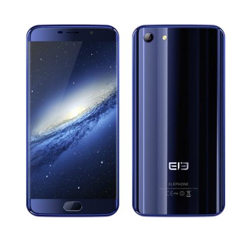 Elephone ELE S7 4G LTE Smartphone 5.5inch JDI FHD tela 1080 * 1920px Helio X20 Deca Core CPU 4GB de RAM 64GB ROM Android 6.0 OS 13.0MP + 5.0MP Dual Camera 3000mAh Bateria Fingerprint ID WiFi GPS Metal Frame Celular