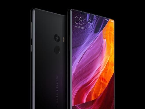 Xiaomi MIX 4G Smartphone 6.4inch FHD Screen 2040*1080pixel Snapdragon 821 Octa-Core 2.35GHz CPU 4GB RAM 128GB ROM UFS2.0 16.0MP+5.0MP Camera 4400mAh Battery NFC QC3.0 Type-C Fingerprint ID Black Ceramic Body Cellphone