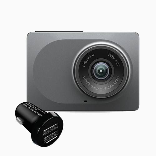 [Dual USB Ports] Xiaomi Xiaoyi Smart Vehicle Data Recorder Camera ADAS 1080P 60 Frames Video