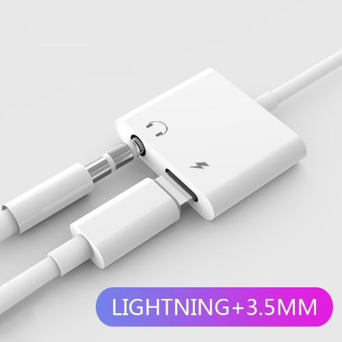 Adaptateur audio Lightning vers 3.5mm
