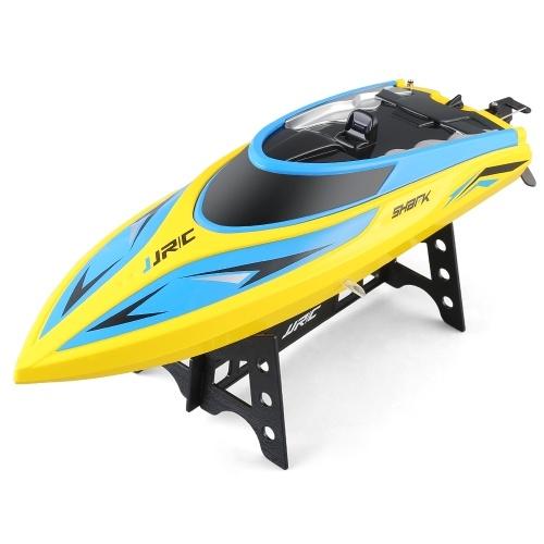 JJR / C S2 Shark 2,4 GHz 2CH 25 KM / h Tragbare Mini RC Boot Fernbedienung Schnellboot