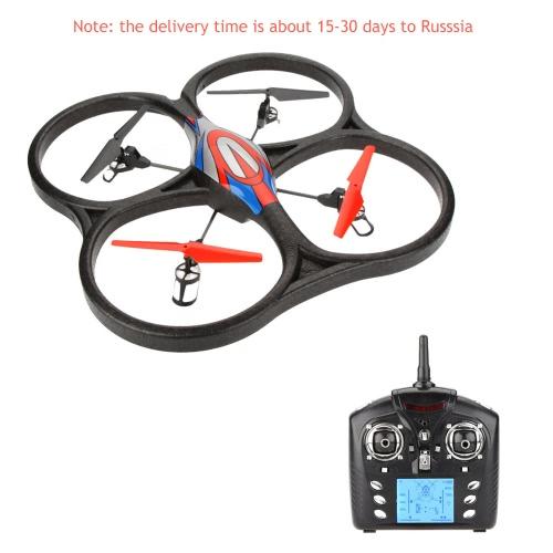 Wltoys V262 2.4G Big Fashionable Global UFO Saucer Drone 4CH RC Quadcopter RTF