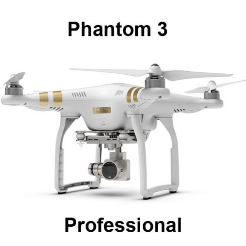 DJI Origine Phantom 3 Professional Version FPV RC Quadcopter avec Caméra HD 4K Auto-décollage / Auto-Retour à la Maison / Failsafe RTF Drone