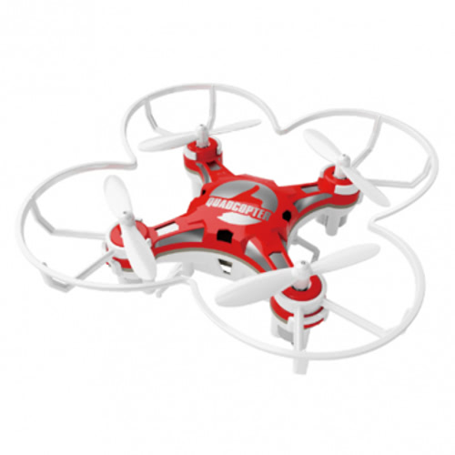 Original FQ777 124 2.4G 4CH Six-axis Gyro Pocket Drone RC Quadcopter RTF with One-key Return Headless mode 3D-flip Function