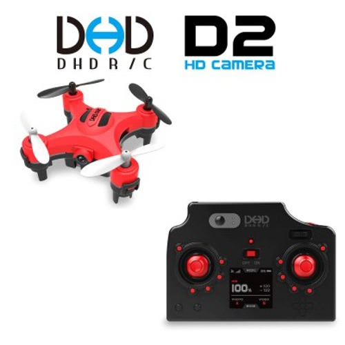 JJRC DHD D2 2.4G 4CH 6-Axis Gyro One-key Return Headless mode 3D-flip 2MP Camera RC Quadcopter