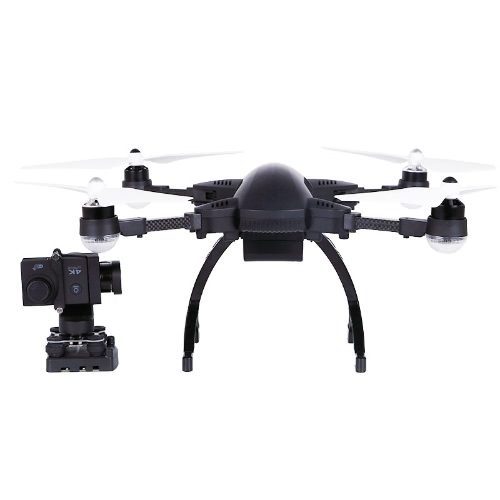 SIMTOO Dragonfly Pro 16MP Camera 4K Brushless Wifi FPV Quadcopter 3-Axis Gimbal Aerial Photography GPS Drone RTF