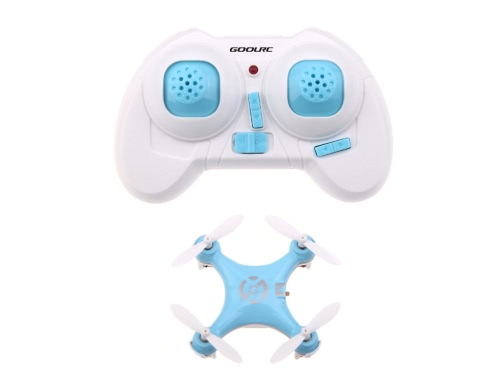 GoolRC CX-10 Mini 2.4G 4CH 6 Axis LED RC Quadcopter Toy Helicoptert (CX-10 Quadcopter;Mini 2.4G Quadcopter;RC Toy)