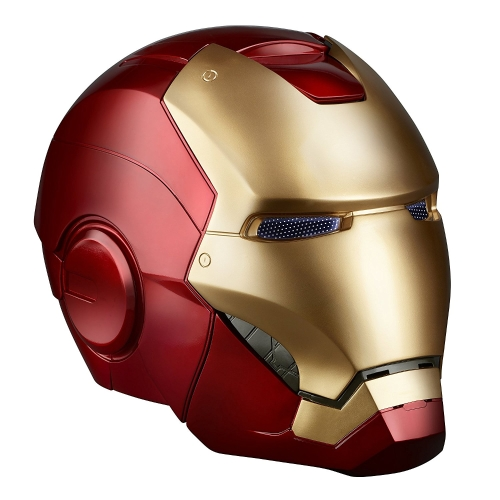 Super Hero Iron Man 1/1 Mark3 Full Scale Wearable Helmet Mask Replika do dekoracji Festiwalu Party Kids Toys