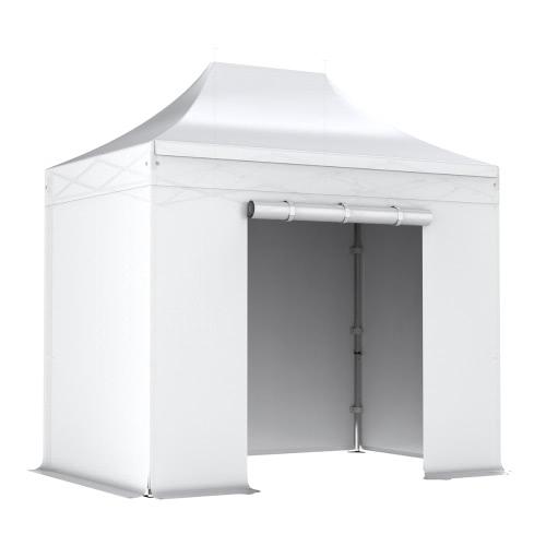 Barnum pliant 2x3m Pack complet Alu 40 polyester 300g/m² pelliculé PVC