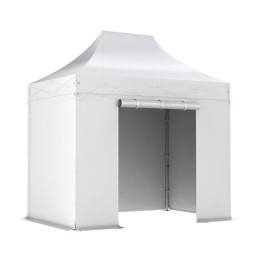 Barnum pliant PRO 2x3 Pack complet Alu 50/55 PVC 520g/m²