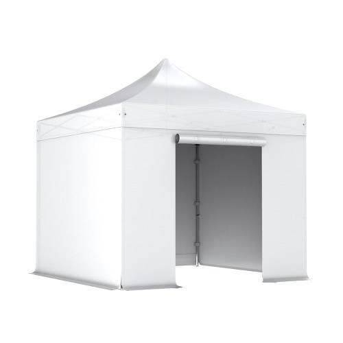 Komplettset Faltpavillon 3x3m Alu 40, Polyester - wasserdicht