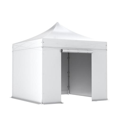 PROFI Komplettset Faltpavillon 3x3m Alu 50, PVC- feuerfest