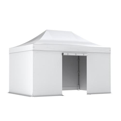 Barnum pliant PRO 3x4.5 Pack complet Alu 50/55 PVC 520g/m²