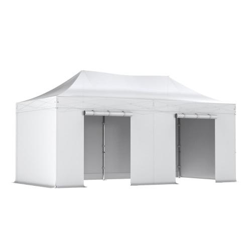 Barnum pliant PRO tente pliante 3x6 Pack complet Alu 50/55 PVC 520g/m²