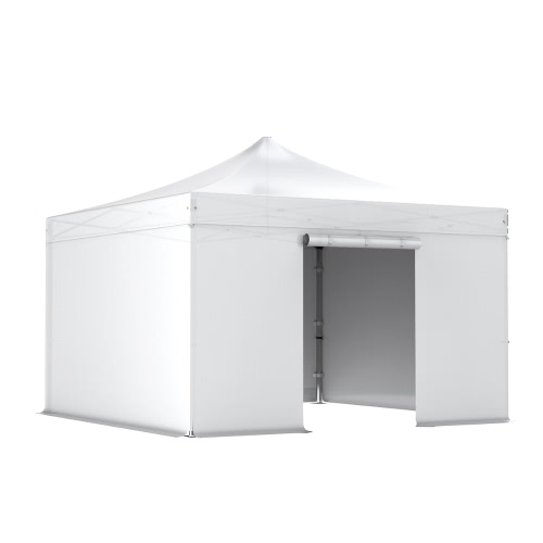 Barnum pliant 4x4m Pack complet Alu 40 polyester 300g/m² pelliculé PVC