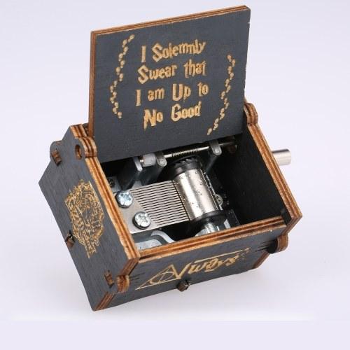 خمر خشبي هاري بوتر موضوع أغنية صندوق الموسيقى الأسود