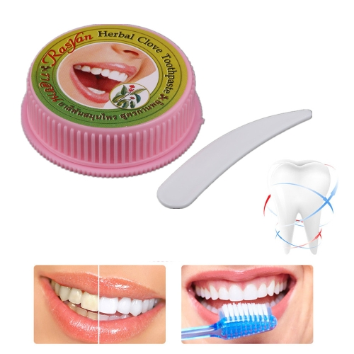 Anself 25g Herb Teeth Whitening Powder Natural Herbal Toothpaste Dentifrice Smoke Coffee Tea Stain Remover