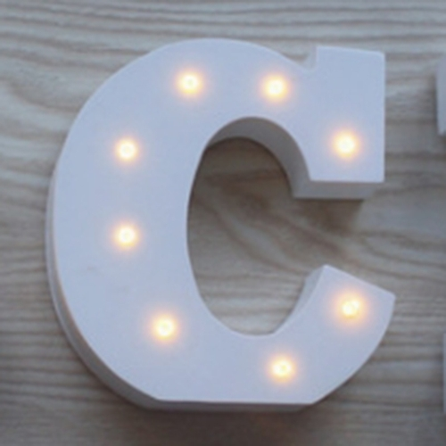 Wooden 26 Letter Alphabet Night LED Lamp Grow Light