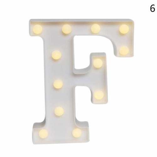 Wooden 26 Letter Alphabet Night LED Lamp Grow Light
