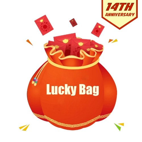 lucky bag for hot action camera
