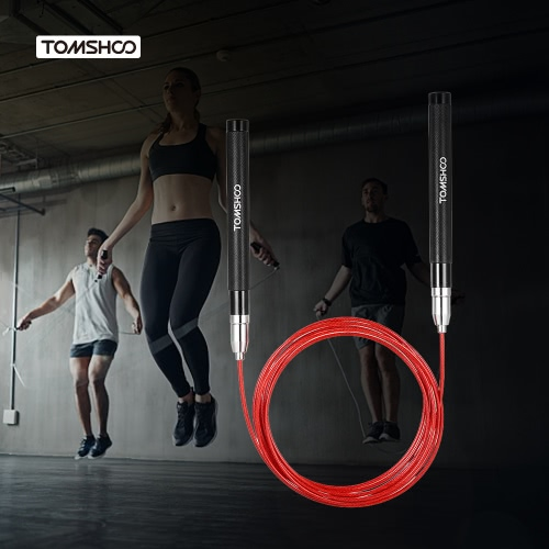 TOMSHOO 10 Füße Einstellbare Geschwindigkeit Sprungseil