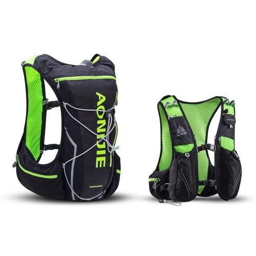 AONIJIE Hydration Pack Rucksack mit 2L Wasserblase zum Laufen Wandern Radfahren Klettern Camping