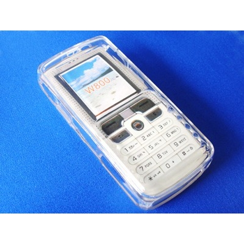 Crystal box Pocket Skin Compatible For Sony Ericsson Cell Phones W800