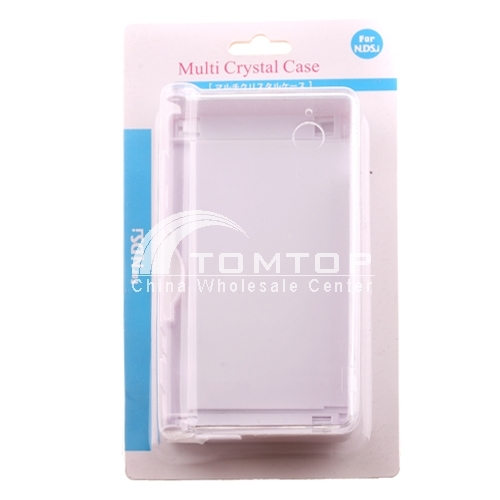 Clear Crystal Hard Case Cover for Nintendo DSi NDSi - White