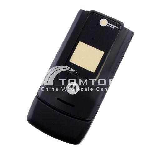 MOTO W510 Cellphone Shell- Black