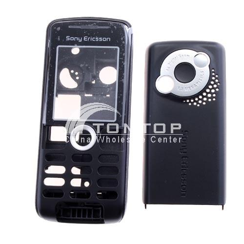 Cellphone Shell for Sony Ericsson K510 - Black