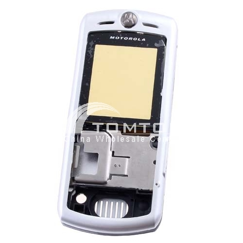Cellphone Shell for MOTO L7- Silver
