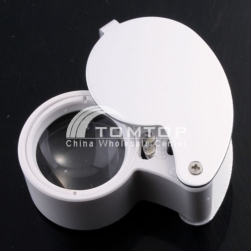 LED 6-shaped jewelry magnifier