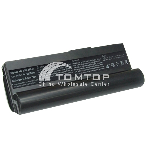 Battery for Asus notebook - EEE PC901 series 7.4V 6600mAh