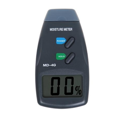 4 agujas para medir la humedad Medidor digital de humedad de la madera Detector probador