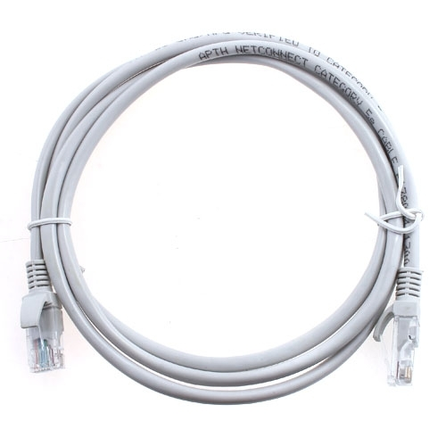 1.5m RJ45 Ethernet Network Patch Cable - gray