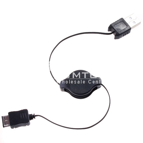 75cm retractable USB cable for mobile phone SAMSUNG G600