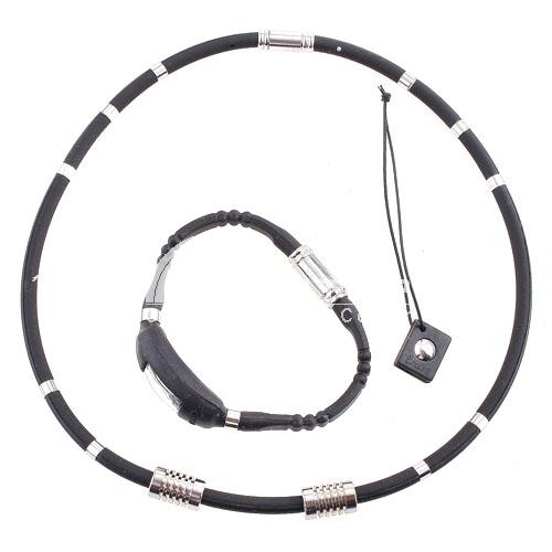 3-in-1 Titanium Ge Magenet  Pressure Reduction Neck-loop