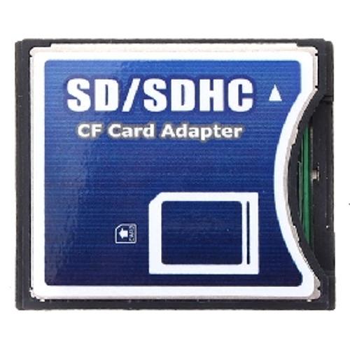 SDHC/SD/MMC TO COMPACT FLASH CF CARD READER ADAPTER