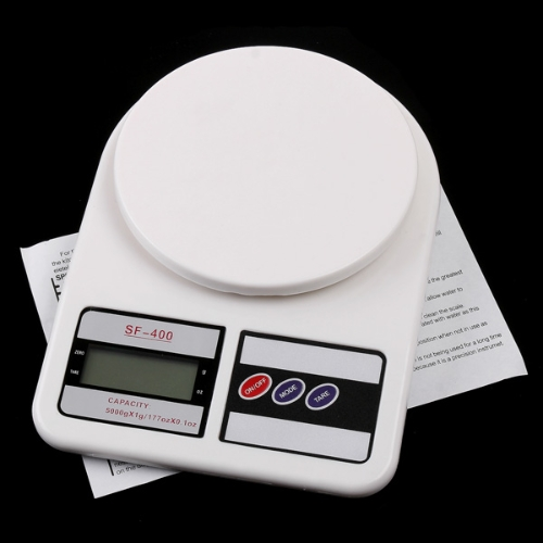 MINI Electronic Kitchen scale with strain-gauge sensor 5000g/1g